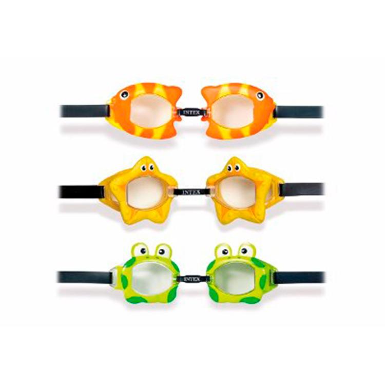 30bf0de548 Lentes de Natación para Niños con Diseños de Animales Intex 55603 ...