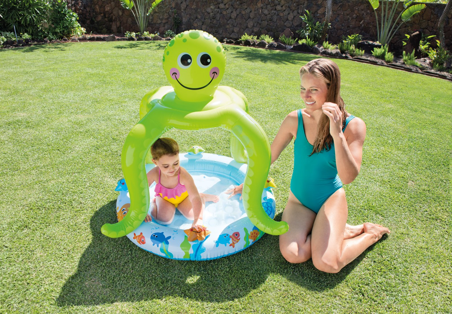 Moderno plantilla de piscina de beb cresta ejemplo de for Piscina inflable intex
