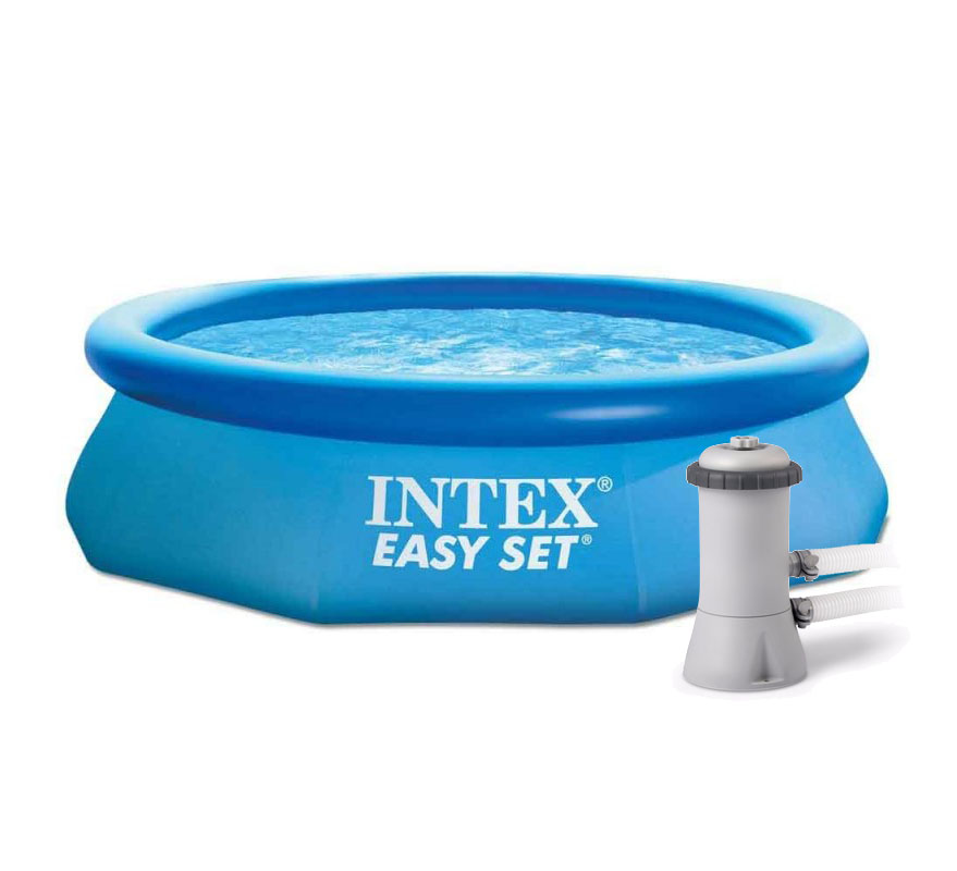 Piscina inflable intex 28120 bomba filtro 28604 305x76cm for Piscina inflable intex