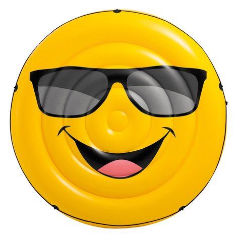 Colchoneta Emoji Intex Inflable Isla – Flotante Emoticon 57254 lFcK1J